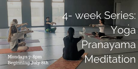 4 Week Series: Yoga, Pranayama & Meditation tickets