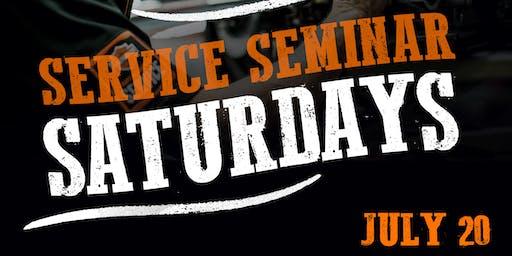 Service Seminar Saturday