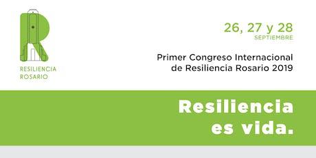 Primer Congreso Internacional de Resiliencia - Rosario 2019 entradas