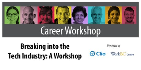 Breaking into the Tech Industry: A Workshop tickets