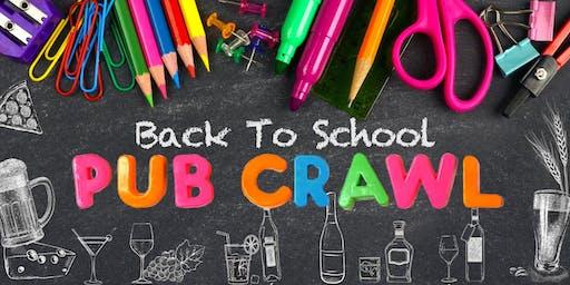 Back To School Pub Crawl!