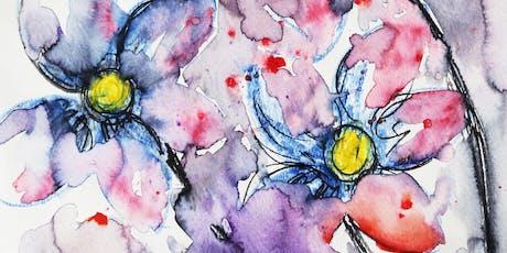 Free Watercolor Kids Workshop tickets