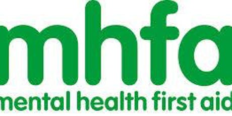 Mental Health First Aid (MHFA) 2 day course 8th & 9th October 2019 (9.00-4.30pm) tickets