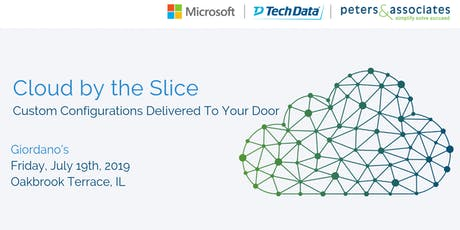 Cloud by the Slice: Custom Configurations Delivered to Your Door tickets