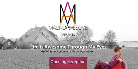 Life is Awesome Through My Eyes - Opening & Closing Reception tickets