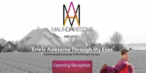 Life is Awesome Through My Eyes - Opening & Closing Reception
