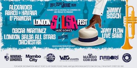 FIRST LONDON SALSA FEST - 200 FULL PASSES tickets