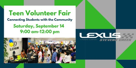 Lexus of Stevens Creek Teen Volunteer Fair tickets