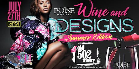 Wine and Designs: Summer Edition  tickets