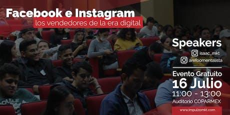 """Facebook e Instagram, revelando los secretos del """"Marketing Digital"""" entradas"""
