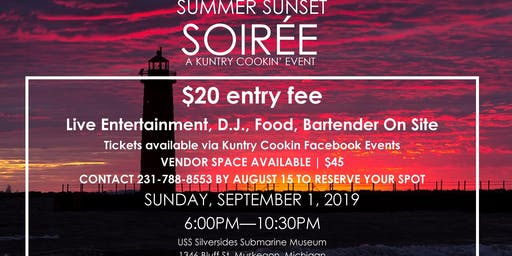 Kuntry Cookin Presents: Summer Sunset Soiree