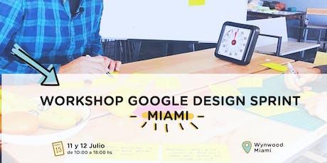 Design Sprint - Workshop en Español entradas