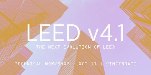 USGBC LEED v4.1 Technical Workshop - Cincinnati