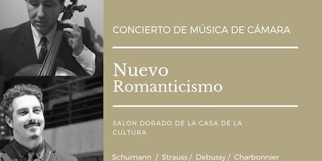 Concierto de Música de cámara Ensamble Nuevo Romanticismo entradas