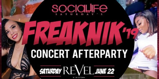 Freaknik Concert Afterparty at Revel! Social Life Saturday's
