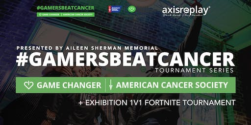 #GamersBeatCancer Networking Social + Exhibition 1V1