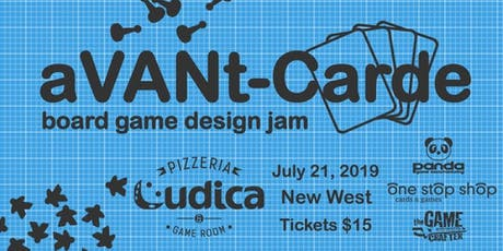 aVANt-Carde: Board Game Design Jam tickets
