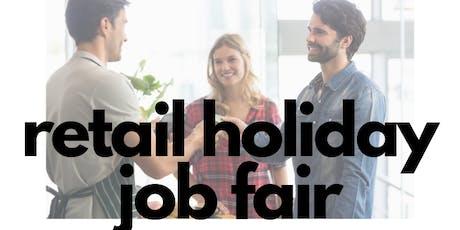 2019 Retail Holiday Job Fair tickets