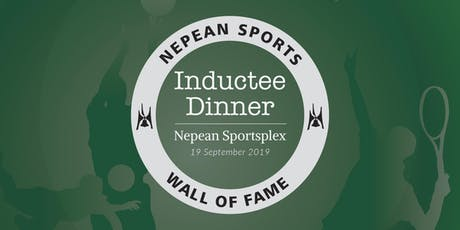 Nepean Sports Wall of Fame Inductee Dinner tickets