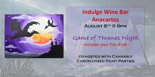 Game of Thrones Paint Night @ Indulge