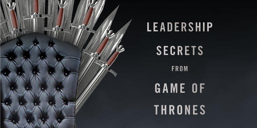 Bruce Craven booksigning WIN OR DIE Leadership Secrets from Game of Thrones