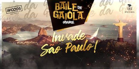 Baile da Gaiola na Woods UP ingressos