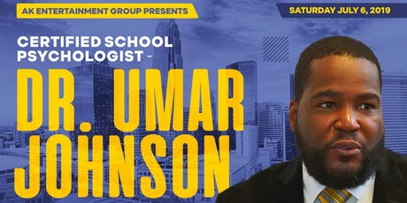 DR. UMAR JOHNSON DEBUTS IN CHARLOTTE, NC tickets