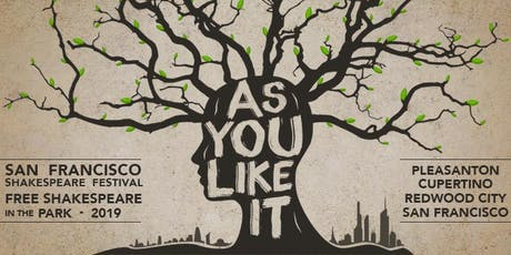 Free Shakespeare in the Park: As You Like It tickets