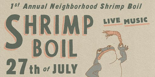 Neighborhood Shrimp Boil : Holmes and South Main Kitchen.