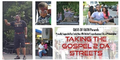 Taking the Gospel 2 Da Streets tickets