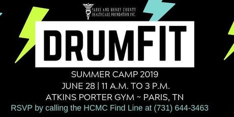 DrumFit Day Camp - Paris 2019 tickets