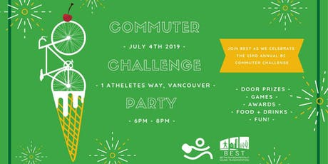 BC Commuter Challenge Wrap-Up Party tickets