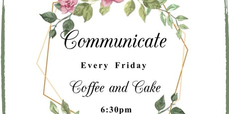 Communicate: Coffee and Cake tickets