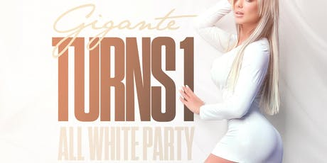 Gigante's All White Party tickets