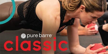 Pure Barre Pop-Up Class tickets