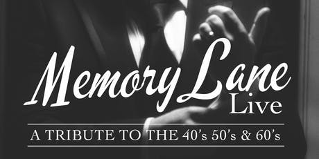 Memory Lane Live tickets