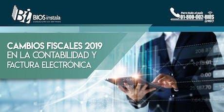 Monterrey, Cambios Fiscales 2019 entradas