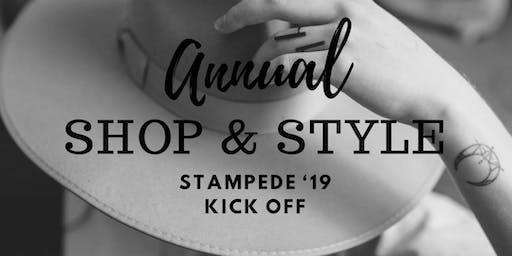 Shop & Style STAMPEDE - Kickoff