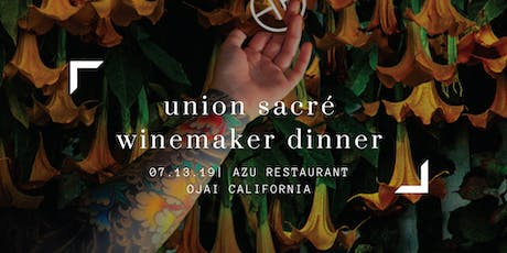 Union Sacré Wine Makers Dinner with Xavier Arnaudin tickets