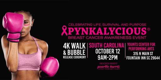 Pynkalycious Breast Cancer Awareness Event 2019 - South Carolina