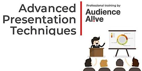 Advanced Presentation Techniques post Covid19 tickets