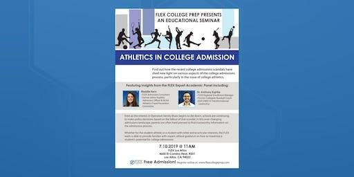 FLEX Los Altos: Seminar: Athletics in College Admission