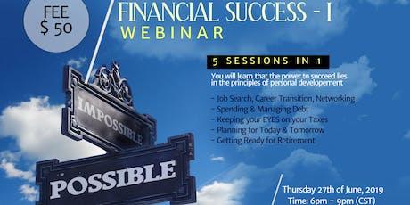 FINANCIAL SUCCESS - I tickets