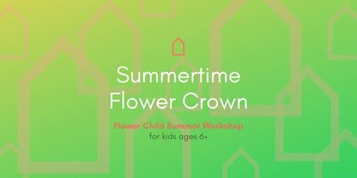 Flower Child Summer Workshop | Summertime Flower Crown