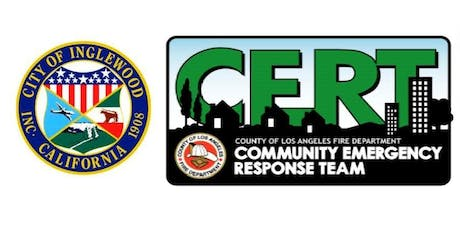 City of Inglewood's CERT Basic Training Course tickets