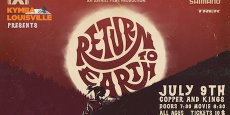 Return To Earth mountain bike premiere tickets
