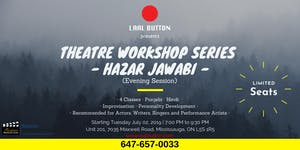 Theatre Workshops | An Introduction | Tuesday Session