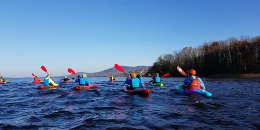 East Clare Paddlers members trip Twomilegate to Killaloe Sunday 23rd June