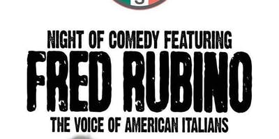 Night Of Comedy Featuring Fred Rubino