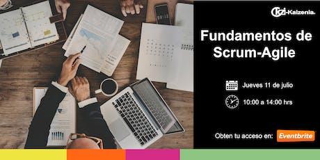Fundamentos de Scrum / Agile  tickets